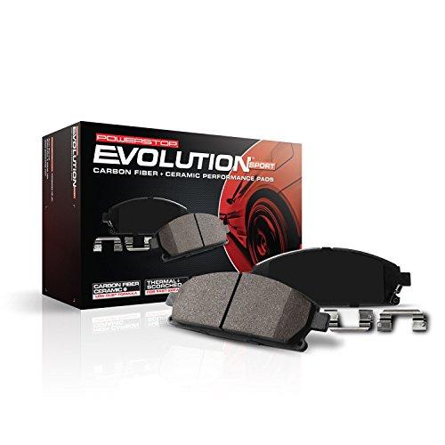 Power Stop (Z23-905) Z23 Evolution Sport Brake Pads, Rear (Nissan Murano Rear Brake Pads compare prices)