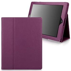Elégante ultra slim Pochette/etui/housse de protection effet graîné pour iPad (iPad 5/iPad Air, Violet)