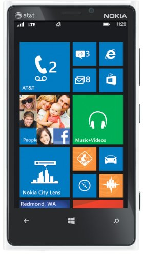 Nokia Lumia 920 4G Windows Phone, White (AT&amp;T)