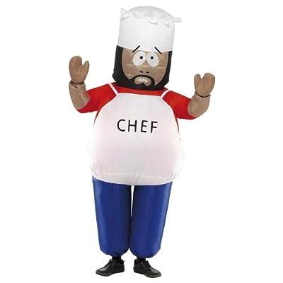 Aufblasbares Kostm Chefkoch Chef South Park Southpark bei aufblasbar.de