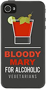 DailyObjects Bloody Mary Case For iPhone 4/4S