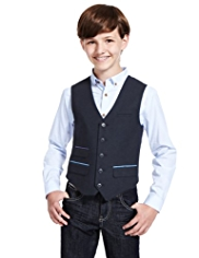 5 Button Waistcoat with Wool