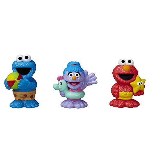 Sesame Street - The Furchester Hotel, Set di spruzza acqua per bagnetto, 3 pz.