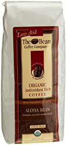 The Bean Coffee Company Aloha Bean Coffee (Hawaiian Hazelnut), Organic Whole Bean, 16-Ounce Bags (Pack of 2)