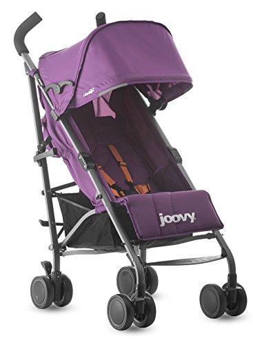 Joovy Groove Ultralight Lightweight Travel Umbrella Stroller, Purpleness
