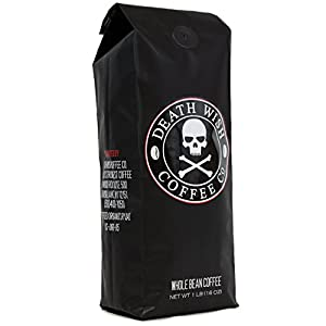 Death Wish Whole Bean Coffee - Fair Trade and USDA Certified Organic from Death Wish Coffee