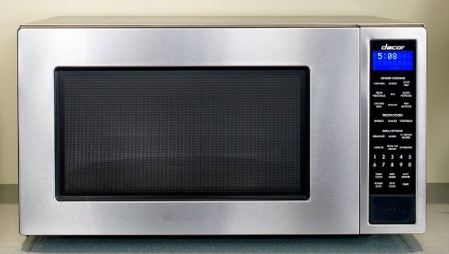 Dacor 2.0 cu. ft. Countertop Micrwave Oven with 1 100 Cooking Watts Sensor Modes and Blue LED Display Stainless Steel
