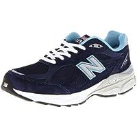 New Balance Women's 990V3 Running Shoe (Navy)