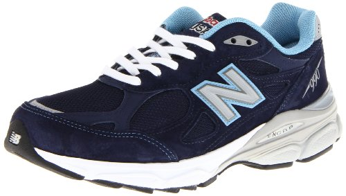 New Balance Women'S W990 Heritage Running Shoe,Navy,10.5 D Us