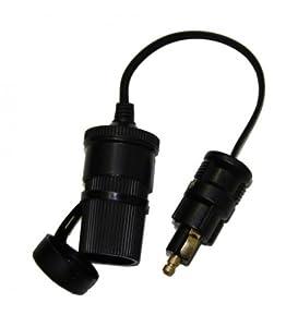 Universal Adapter Kabel Zigarettenanzünder 12 / 24 Volt Verteilerbuchse Normstecker Universalbuchse KfZ Auto by kosiha24