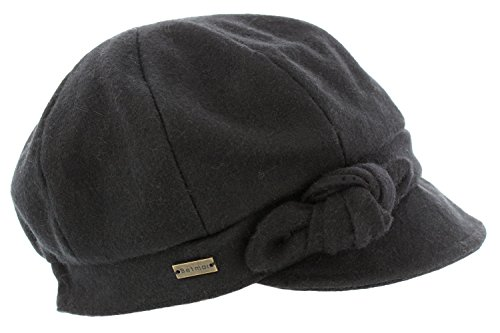 betmar-ladies-adele-bakerboy-cap-black