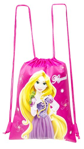 Disney Princess Rapunzel Drawstring Backpack - 1
