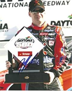 Signed Burton Photo - 8x10 Daytona - Autographed NASCAR Photos by Sports Memorabilia
