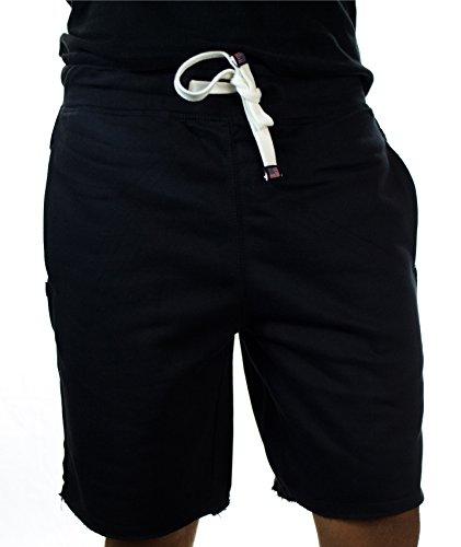 Men's Core Fleece Casual Home Wear Shorts Black Medium Medium Casual Shorts