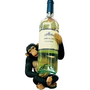 Monkey Wine Bottle Holder/Rack