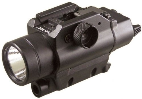 Streamlight 69180 Tlr-Vir Visible Led Rail Mounted Flashlight With Ir Laser Sight And Rail Locating Keys