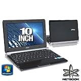 MSI U160-412US 10-Inch Netbook (Black)
