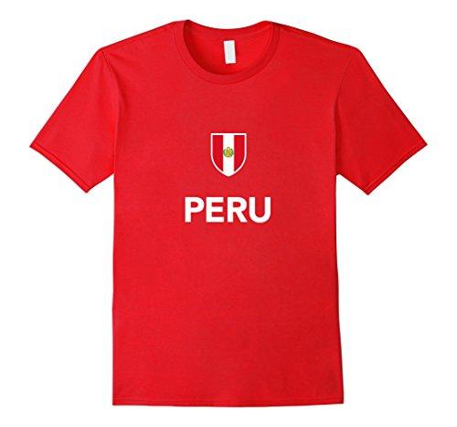 Peru-Soccer-T-Shirt-Peruvian-Football-Tee-Shirt