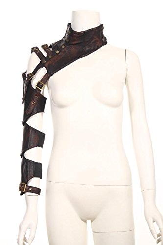 Retro leather arm Wraps Top Jacket