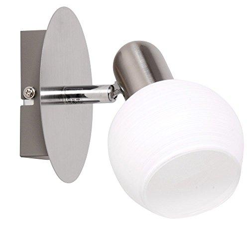 LED-1er-Wand-Spot-Wandlampe-Wandleuchte-Lampe-Leuchte-Beleuchtung-Wohnzimmer-NICOSIA
