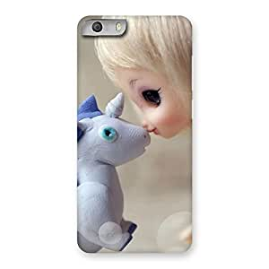 Sky Print Wonderful Love Back Case Cover for Micromax Canvas Knight 2