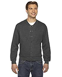 American Apparel American Apparel Unisex Flex Fleece Club Jacket - Dark Heather Grey / S