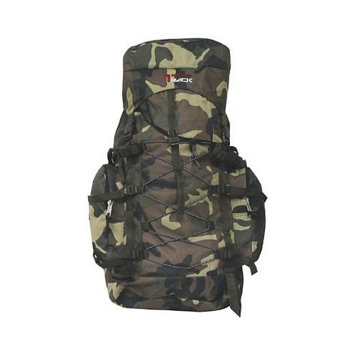 Army Color Green Camouflage Large Hiking Hiker Crosscountry Backpacking Backpack - 3200 Cubic Inches