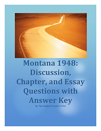 loyal quotes on montana 1948 Montana 1948 summary & study guide includes detailed chapter summaries and analysis, quotes, character descriptions, themes, and more.