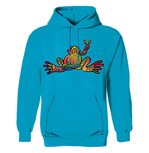 peace-frogs-hope-frog-youth-pull-over-hoodie-licensed-t-shirt-large