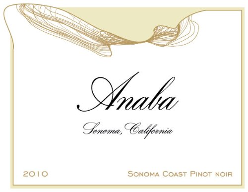 2010 Anaba Sonoma Coast Pinot Noir Red Wine 750