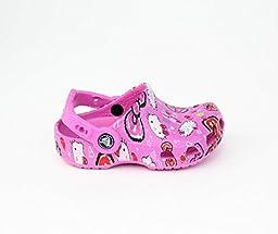 crocs 15282 Hello Kitty Good Times Clog,Petal Pink,4 M US Toddler