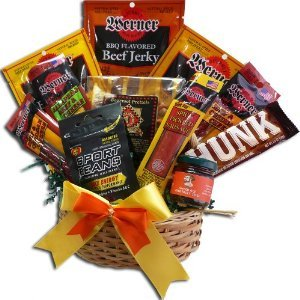 Art of Appreciation Gift Baskets Meat and Snack