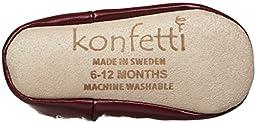 Konfetti by Nowali Baby Girls\' Swiss Mix Moccasins - Burgundy - 12-18 Months