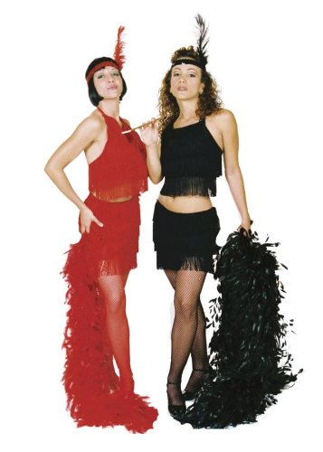 Sexy Flapper Costume - Medium - Dress Size 8-10