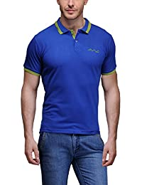 AWG Men's Premium Rich Cotton Polo T-shirt With Embroidery