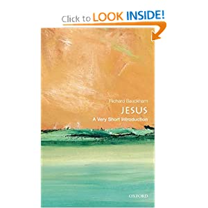 Jesus: A Very Short Introduction (Very Short Introductions) Richard Bauckham