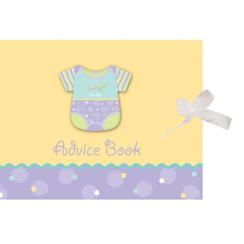 Advice Book w/Ribbon & Att Love bug - 6 Count