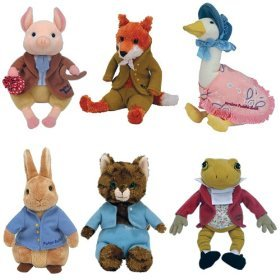 Review for TY Beanie Babies - The BEATRIX POTTER Collection (Set of 6  animals - UK Exclusives) 4e89d637eff4