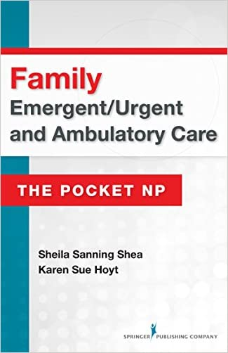 Emergent/Urgent and Ambulatory Care: Family (The Pocket Np)