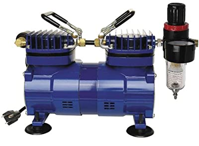 Paasche DA400R 1/4 HP Compressor with Regulator and Moisture Trap