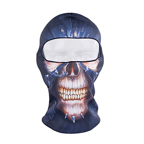 Maoko Camo Sports Thin UV Protective Windproof Face Mask- Motorcycle Cycling Skull Balaclava (Disguise Can compare prices)