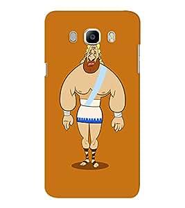 EPICCASE Greek Character Mobile Back Case Cover For Samsung J7 2016 (Designer Case)