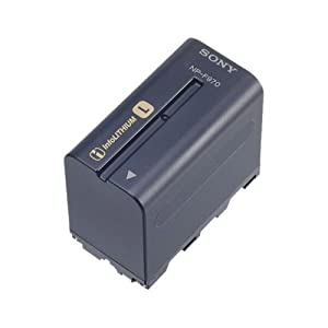 Sony NP-F970 Rechargeable L Series Info-Lithium Battery for Select Sony Cameras