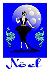 Art Deco Lady and the Peacocks 1930s style wall Art Prints 18 x 24 S/N Limited Edition No1. of 100