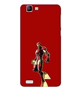 EPICCASE Ironman Mobile Back Case Cover For Vivo X 3s (Designer Case)