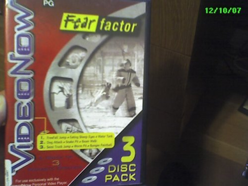 VideoNow 3 Disc Pack Fear Factor - 1