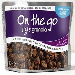 Lizi's Granola - On the Go - Belgian Chocolate - 47g