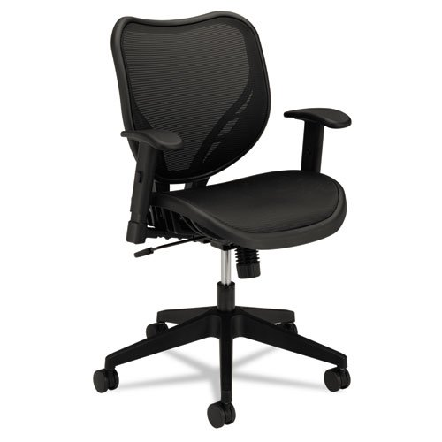 hon hon hvl552 mid back work chair for office or computer desk black