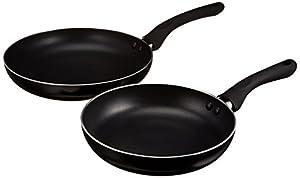 AmazonBasics 2-Piece Nonstick Fry Pan Set