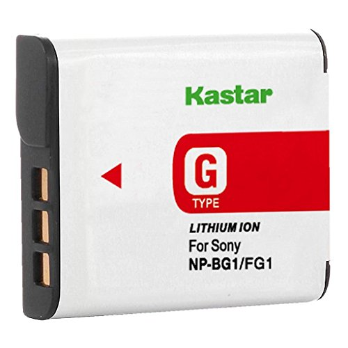 Kastar Lithium Ion Camera Battery for Sony G Type NPBG1 NP-BG1 (Battery Type Lithium Ion compare prices)